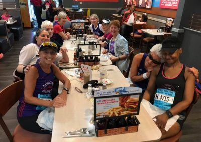 iHOP after the race